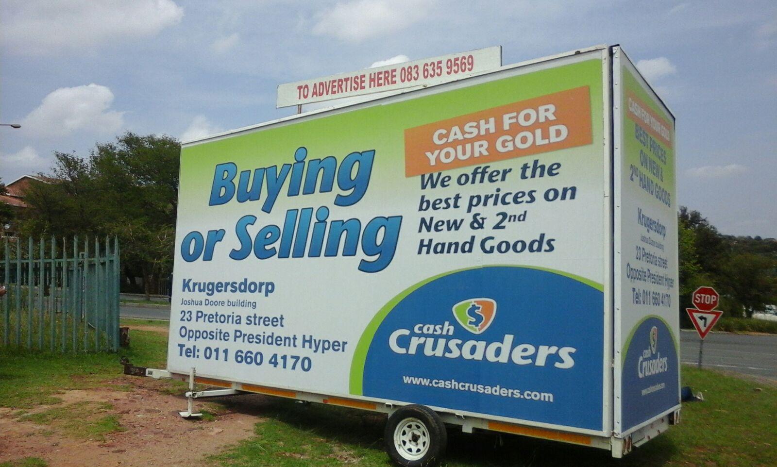 Cash Crusaders side 1 panel pic